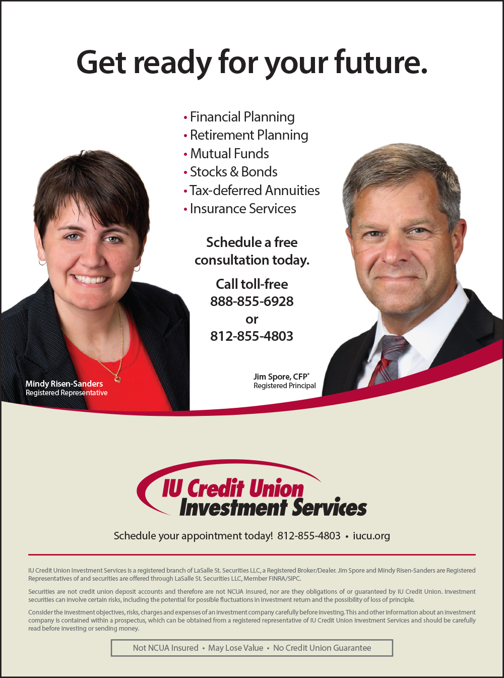 IU Credit Union Investment Services
